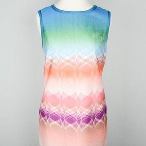 Missoni Multi Color Zip Back Dress